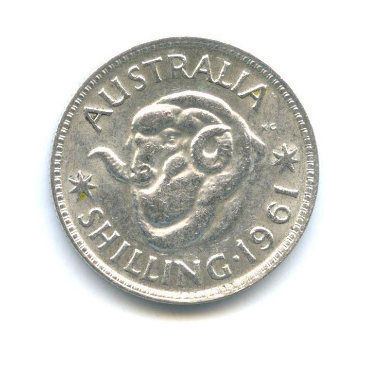 1 шиллинг 1961 года (Австралия)