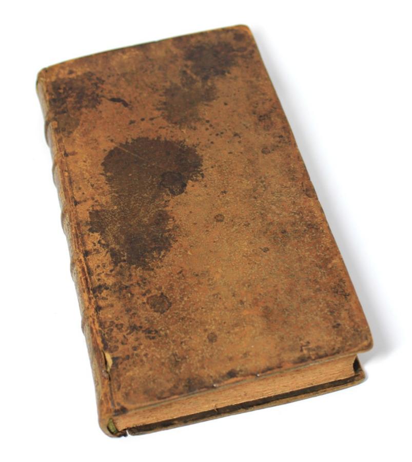 Книга «Нравственные испытания», Париж, 396 стр. 1700 года (Франция)