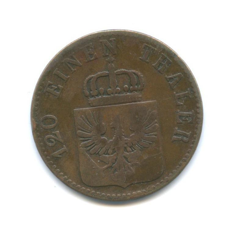 3 пфеннинга, Пруссия 1846 года А