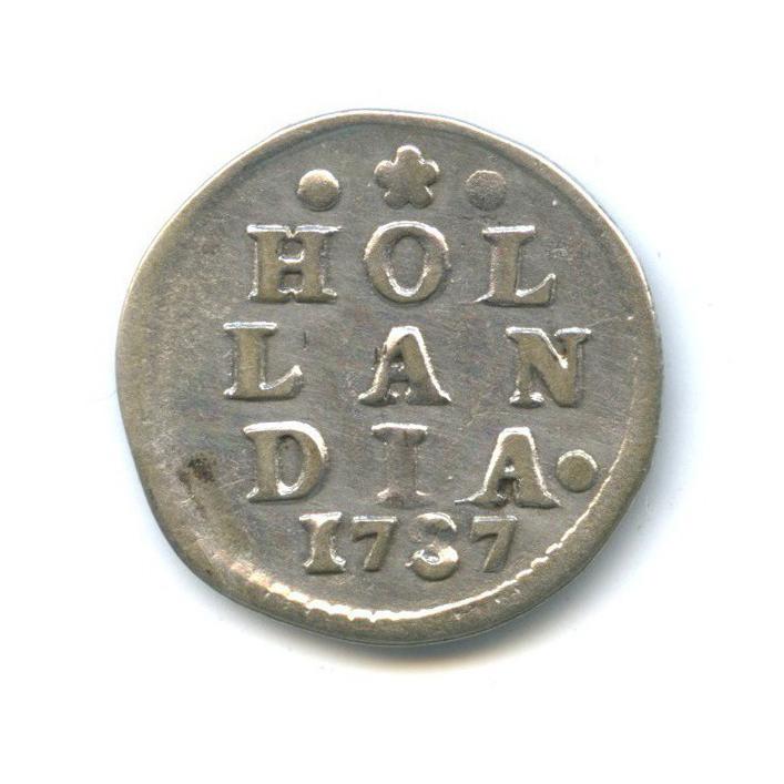 2 стивера, Голландия 1737 года