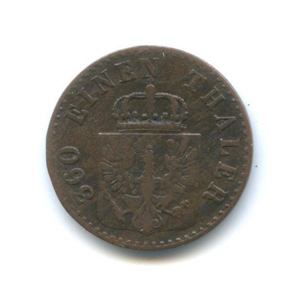 1 пфеннинг, Пруссия 1852 года А