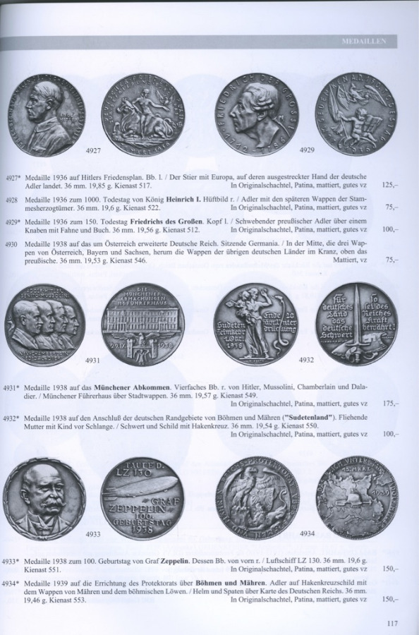 Каталог аукциона нумизматики «Gorny & Mosch», №135, 225 стр 2004 года (Германия)