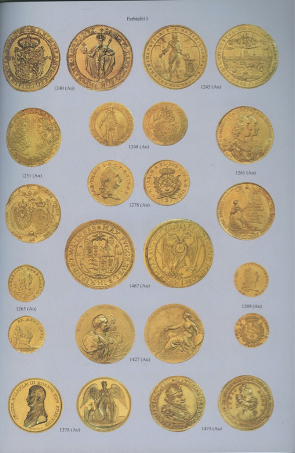 Каталог аукциона нумизматики «Munzen und medaillen», №218 2001 года (Германия)