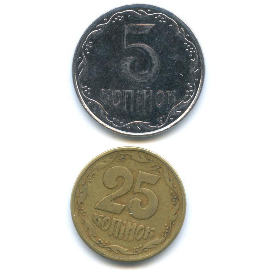 Набор монет 1994, 2008 (Украина)