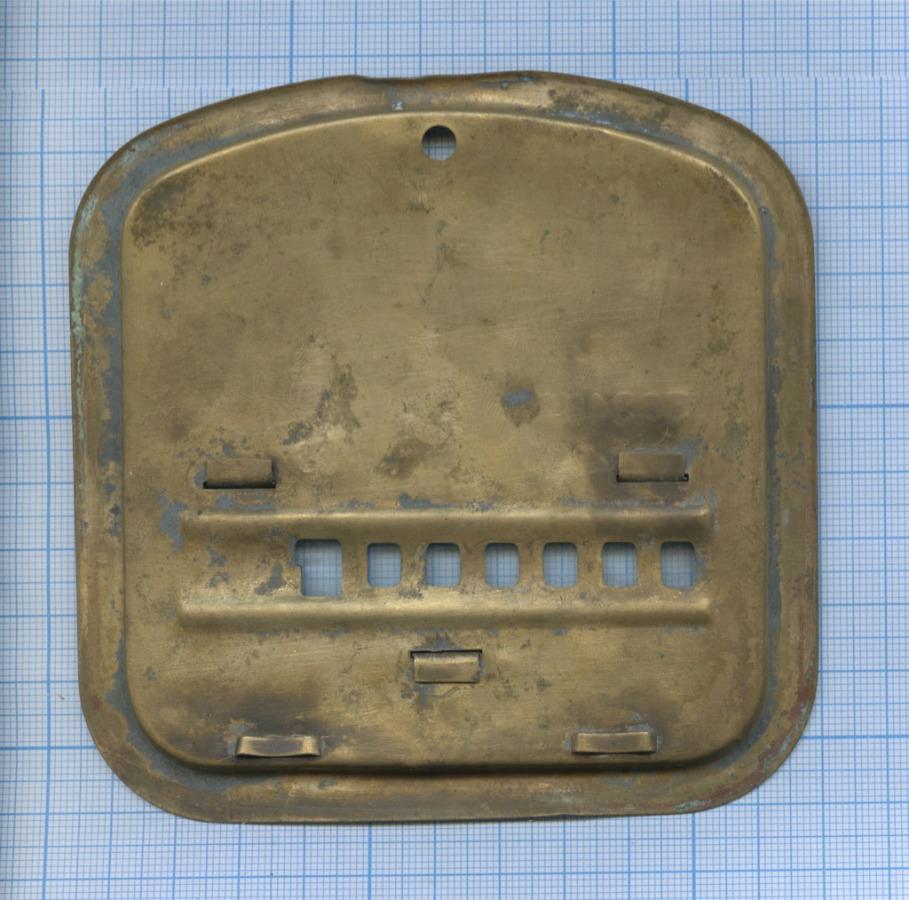 Крышка отгазосчетчика «Ленгазаппарат» 1952 года (СССР)