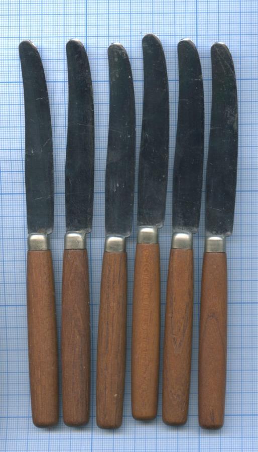 Набор ножей (сталь, дерево) (Швеция)
