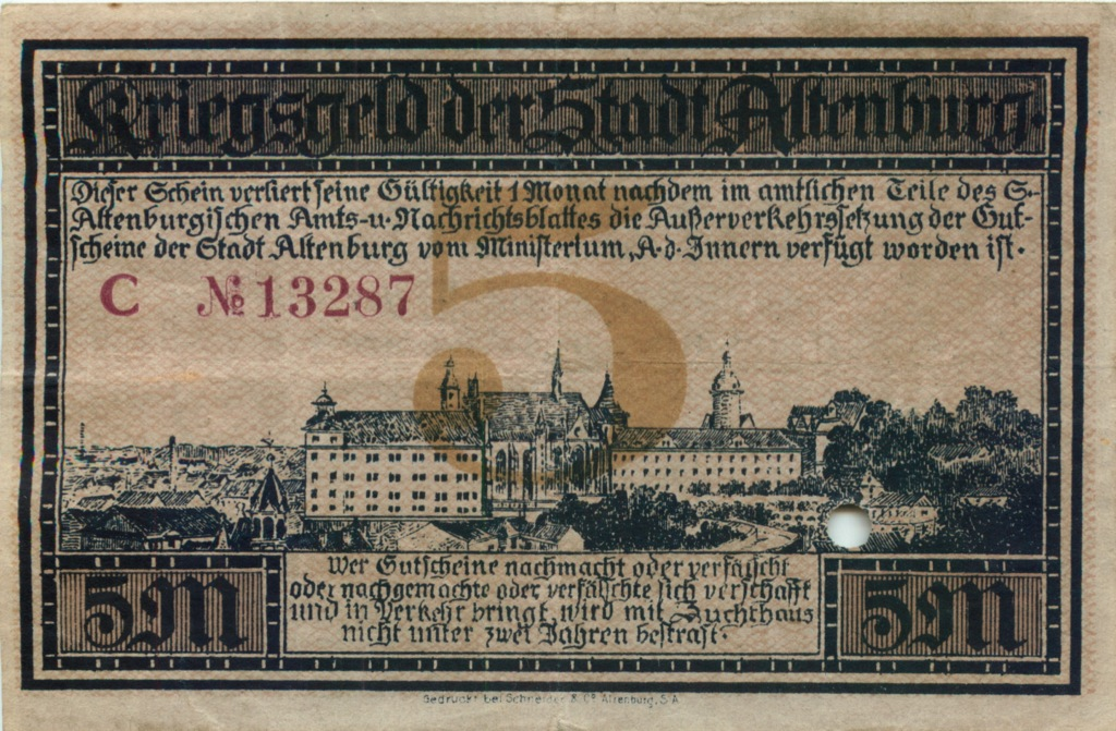 5 марок 1918 года (Германия)