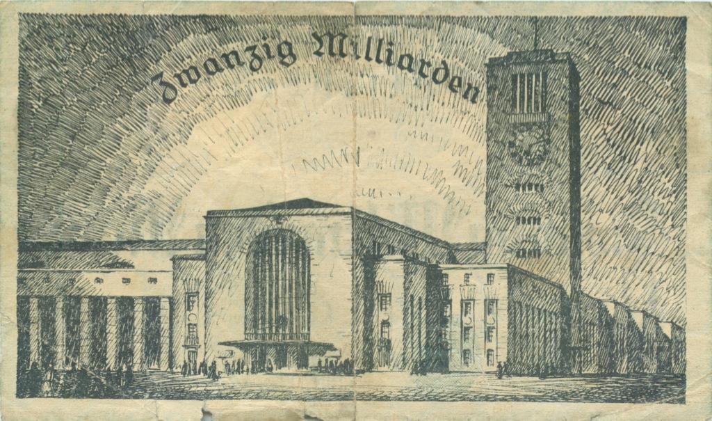 20 миллиардов марок 1923 года (Германия)