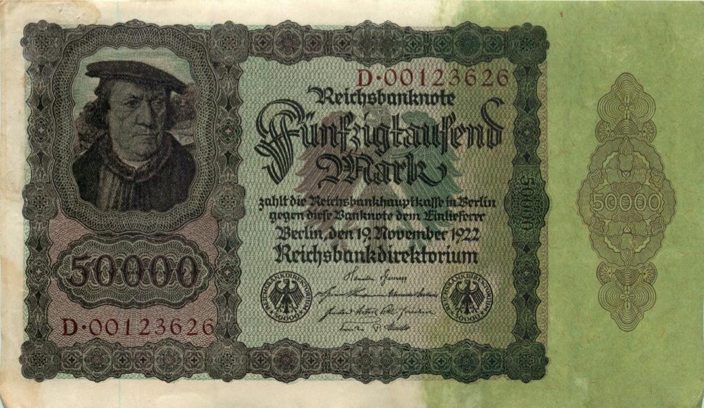 50 тысяч марок 1922 года (Германия)