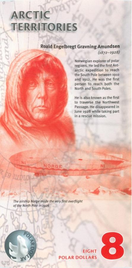 8 долларов (Арктические территории) 2011 года