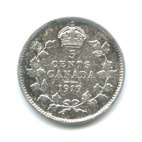 5 центов 1919 года (Канада)