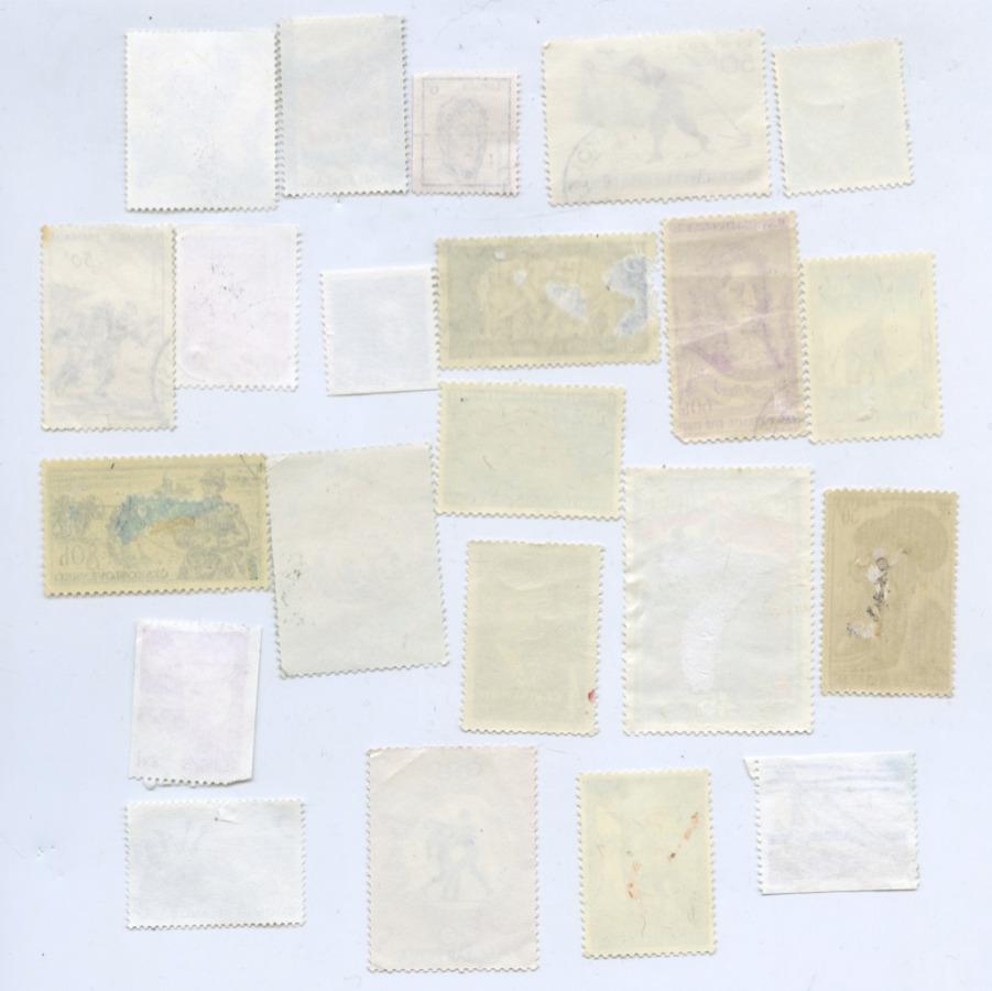Набор почтовых марок, разные страны (21 шт.)