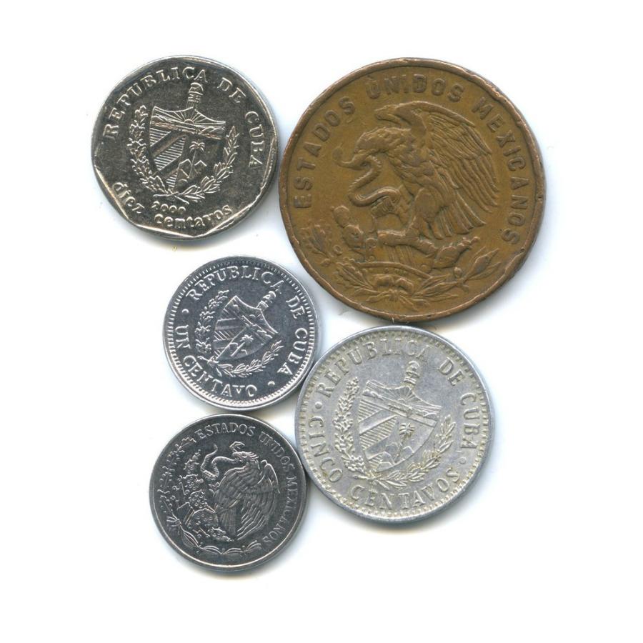 Набор монет (Куба, Мексика)