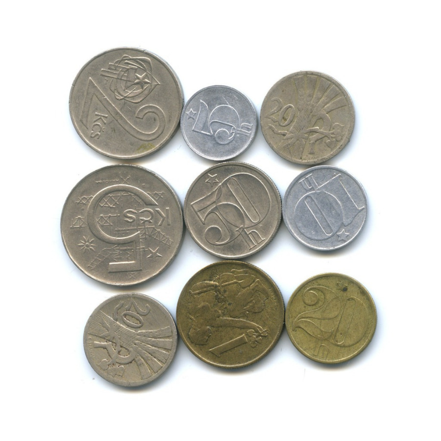 Набор монет (Чехословакия)