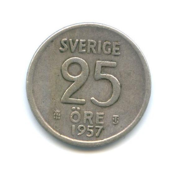 25 эре 1957 года (Швеция)
