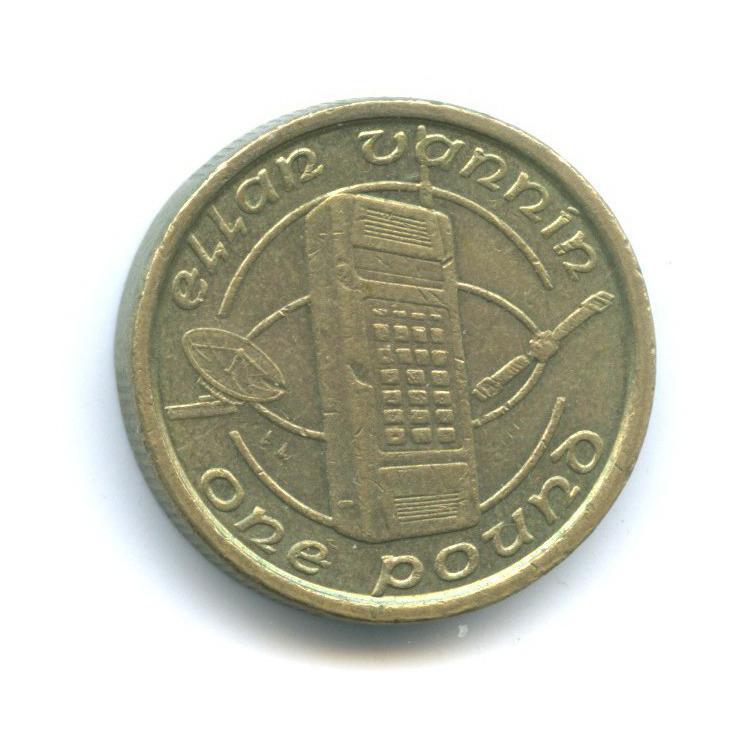 1 фунт - Телекоммуникации , Остров Мэн 1994 года