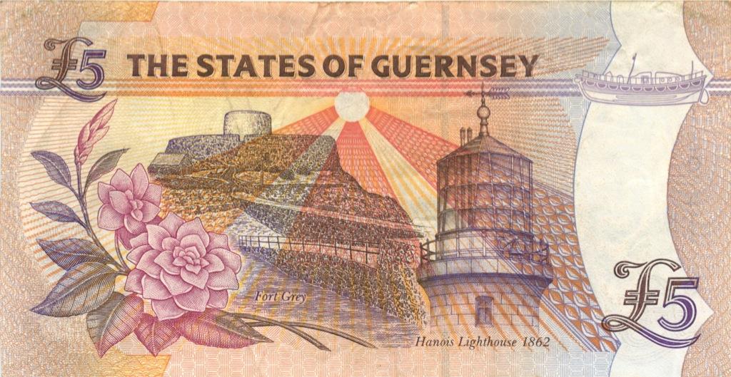 5 фунтов (Гернси) 1996 года