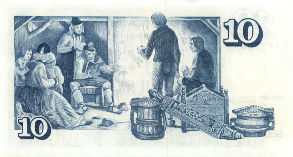 10 крон 1961 года (Исландия)