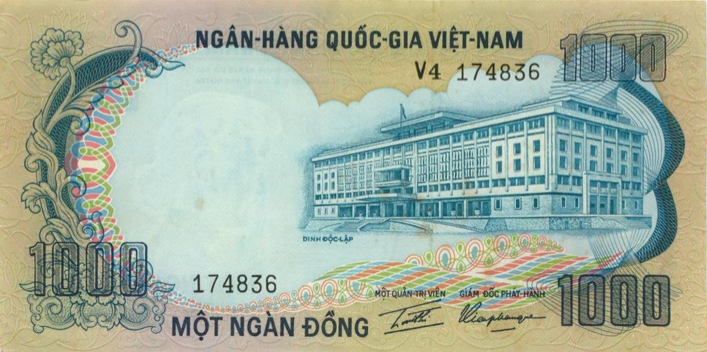 1000 донгов 1972 года (Вьетнам)