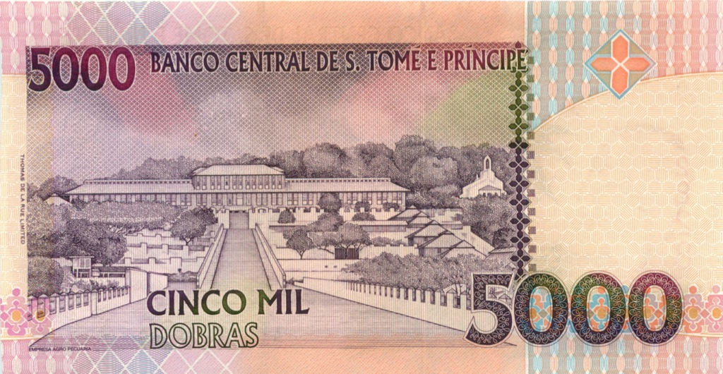 5000 добр (Сан-Томе иПринсипи) 2004 года