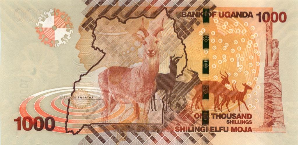 1000 шиллингов 2010 года (Уганда)