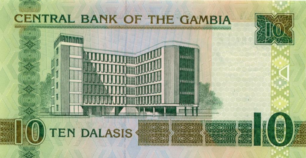 10 даласи (Гамбия) 2012 года