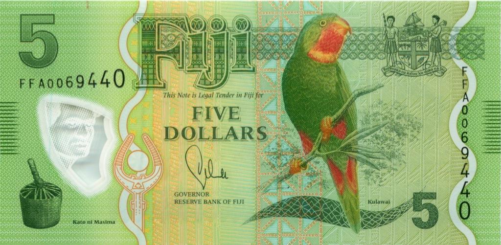 5 долларов 2012 года (Фиджи)