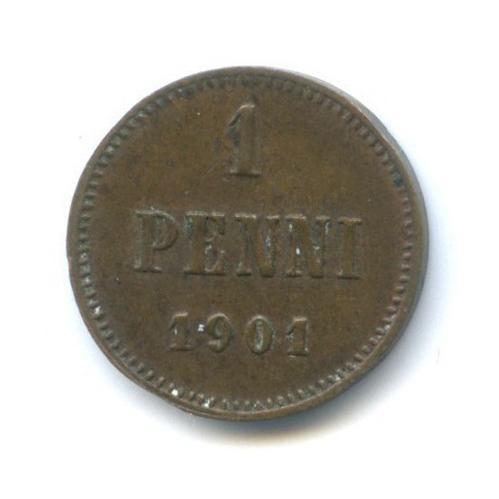 1 пенни 1901 года (Российская Империя)
