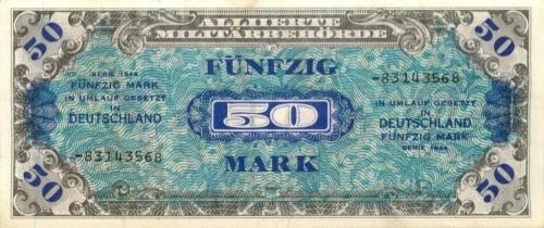 50 марок 1944 года (Германия (Третий рейх))
