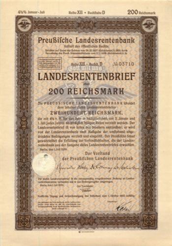200 рейхсмарок 1943 года (Германия (Третий рейх))