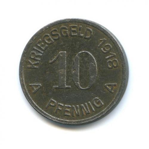 10 пфеннигов, Люденшайд (нотгельд) 1918 года (Германия)