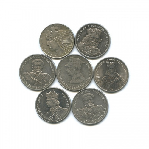 Набор юбилейных монет (Польша)
