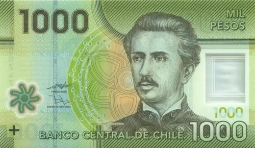 1000 песо 2011 года (Чили)