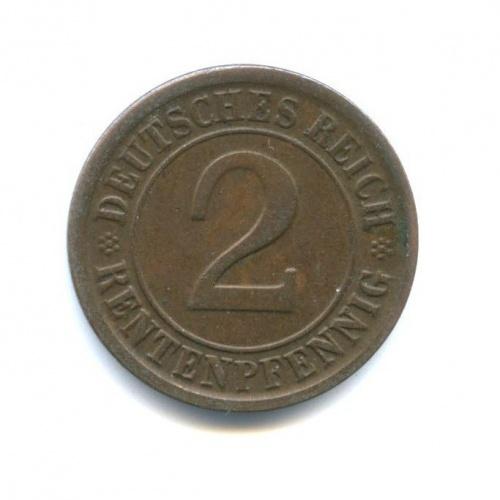 2 рентенпфеннига 1924 года A (Германия)