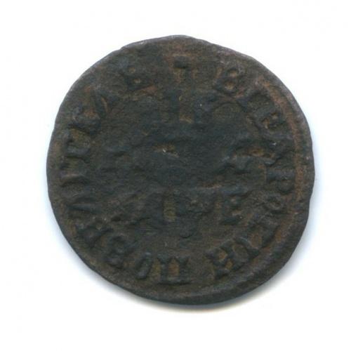 Денга (1/2 копейки), Петр IВеликий 1705 года (Российская Империя)