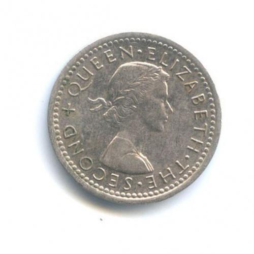 3 пенса 1963 года (Новая Зеландия)
