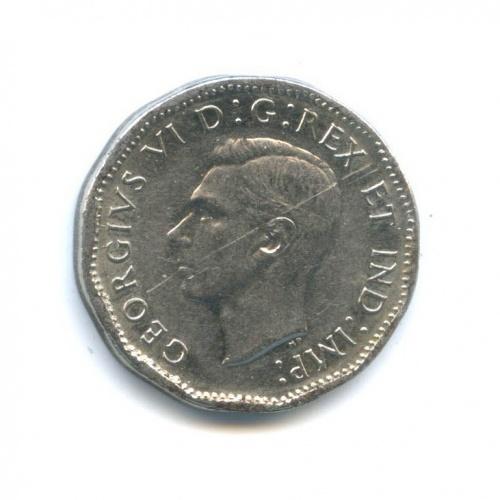 5 центов 1945 года (Канада)