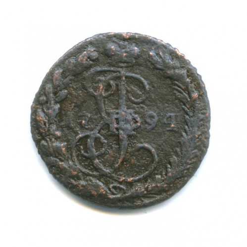 Денга (1/2 копейки) 1794 года ЕМ (Российская Империя)