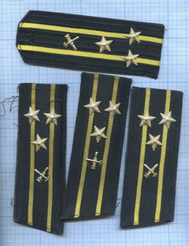 Погоны ВМФ (инженерные войска) (СССР)