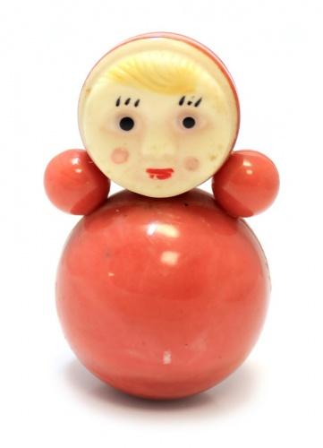 Игрушка «Неваляшка», 8 см (СССР)