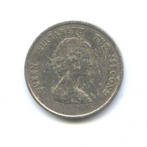 25 центов (Британские Карибы) 1980 года