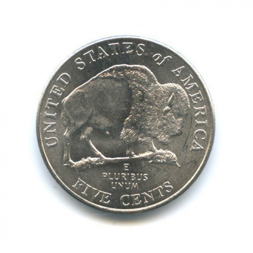 5 центов — 200 лет экспедиции Льюиса иКларка - Бизон 2005 года P (США)