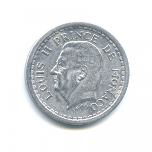 2 франка 1943 года (Монако)