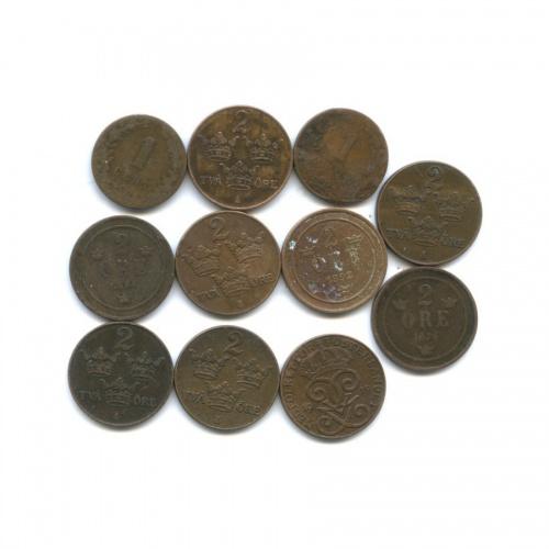 Набор монет (Швеция, Нидерланды)