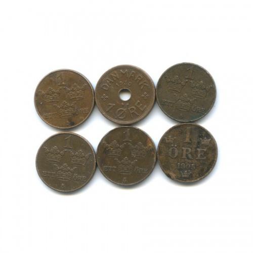 Набор монет 1 эре (Швеция)
