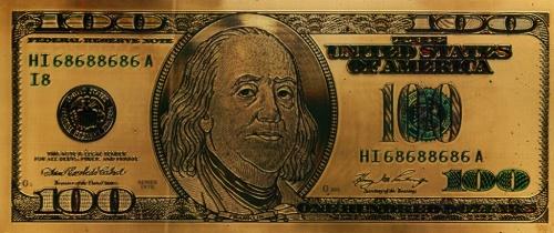 100 долларов, сувенирная банкнота (США)