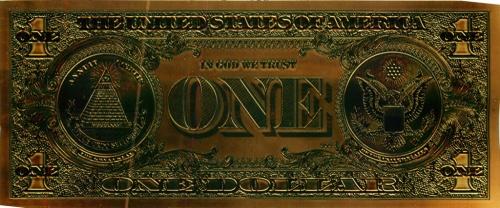 1 доллар, сувенирная банкнота (США)