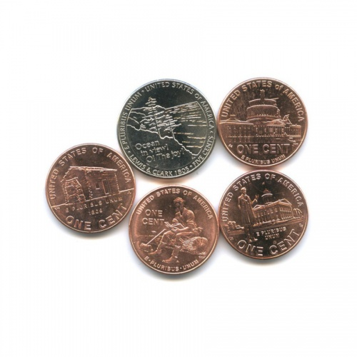 Набор монет 2005, 2009 D (США)