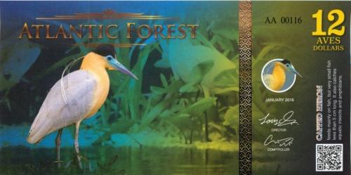 12 долларов (Атлантический лес) 2016 года
