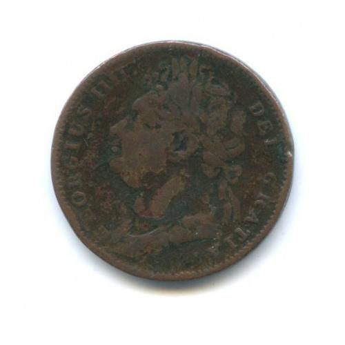 1 фартинг - Георг IV 1823 года (Великобритания)